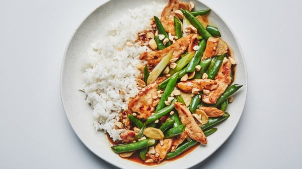 Chicken and Green Bean Stir-Fry #recipe #dinner