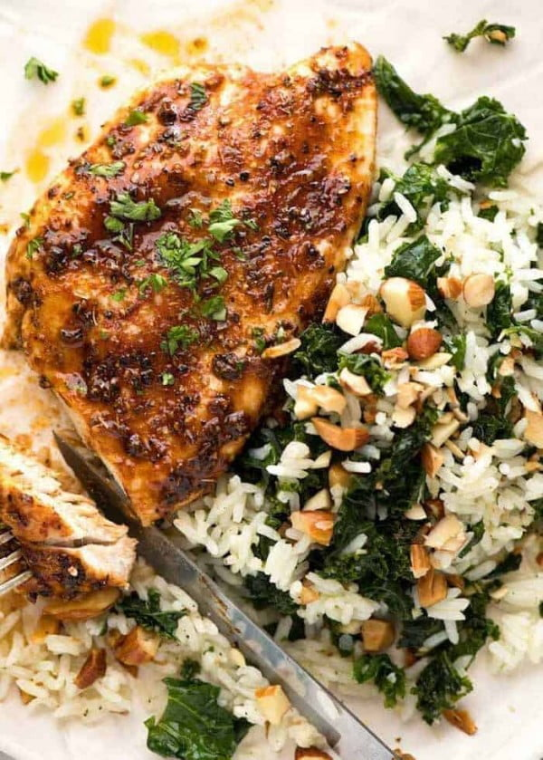 Oven Baked Chicken Breast #recipe #dinner