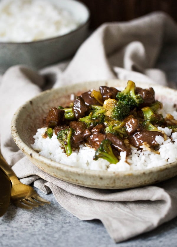 Slow Cooker Beef and Broccoli #recipe #dinner