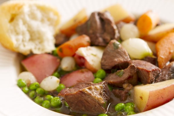 Small Crock Pot Beef Stew for Two #recipe #dinner