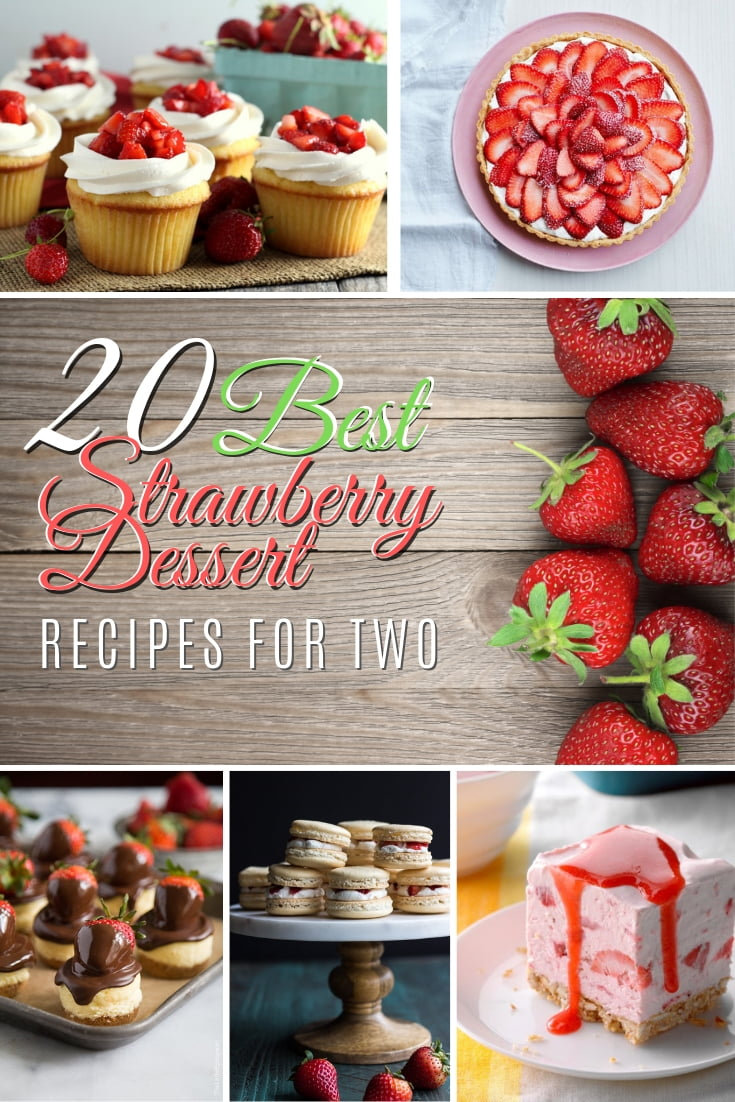 Looking for the perfect strawberry dessert to make for yourself and your significant other? Here are the 20 best strawberry desserts to end a romantic dinner with a flair! #recipes #dessert