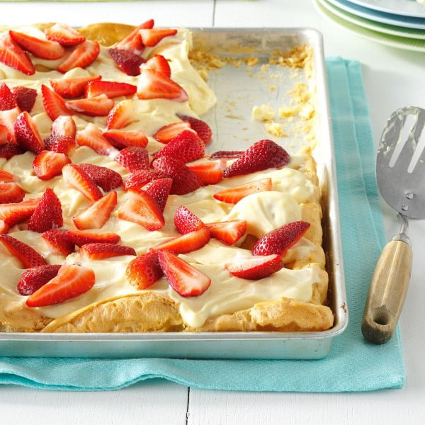 Strawberry Bliss Dessert #recipe