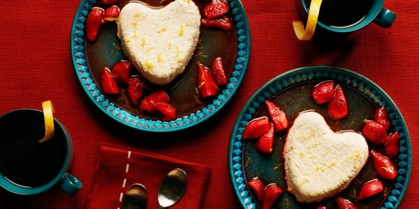 Coeur à la Crème (Cream Heart) Strawberry Dessert #recipe