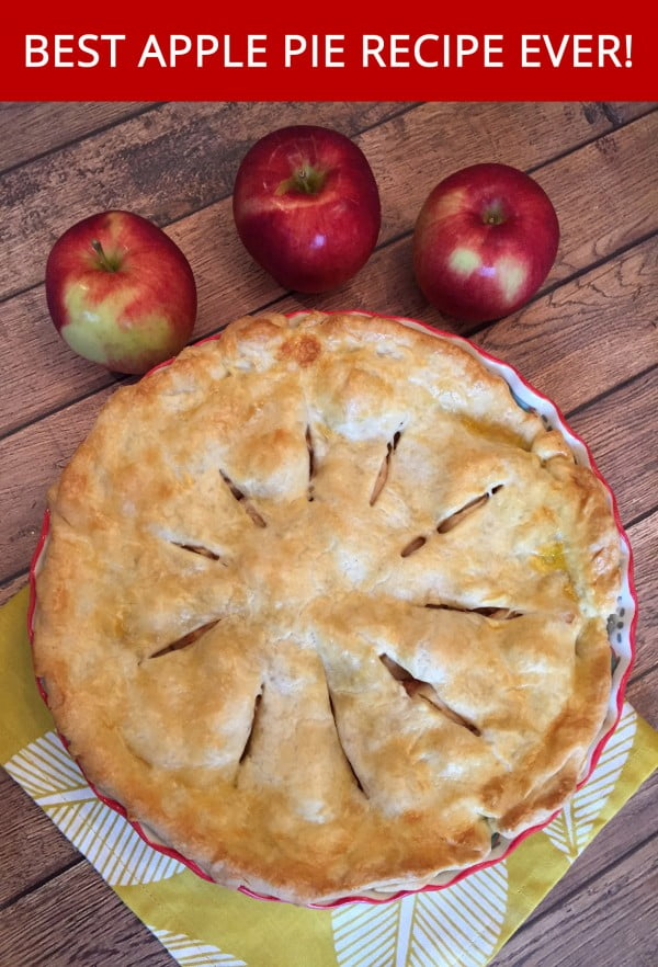 Best Apple Pie Recipe Ever – Easy And Made From Scratch! #dessert #appleplie #recipe