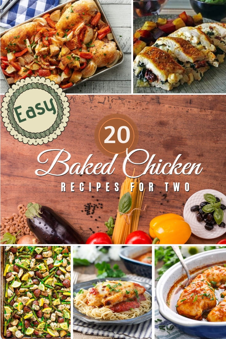 What more better way to treat yourself and your significant other than baked chicken for dinner? Here's a terrific list of easy baked chicken recipes to try! #recipe #dinner #chicken