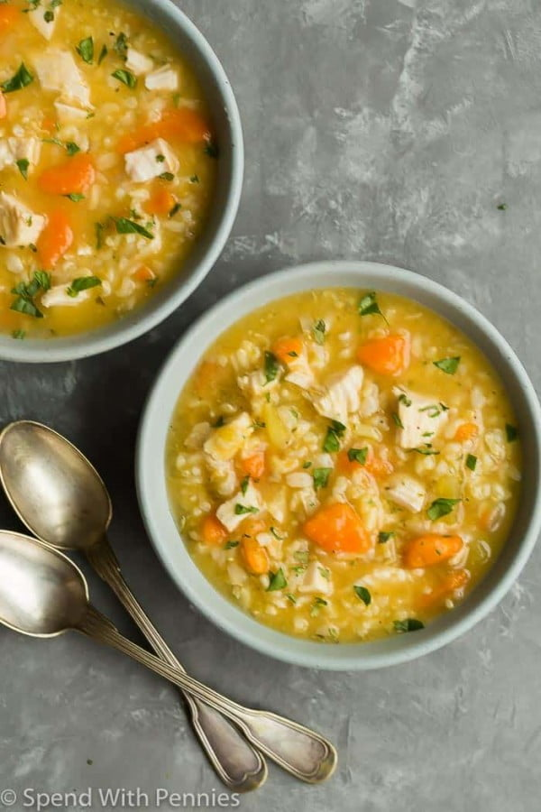 Spend With Pennies #chicken #soup #dinner #recipe
