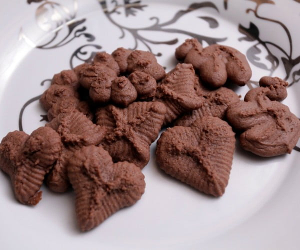 World's FASTEST Chocolate Cookie #dessert #chocolate #cookies