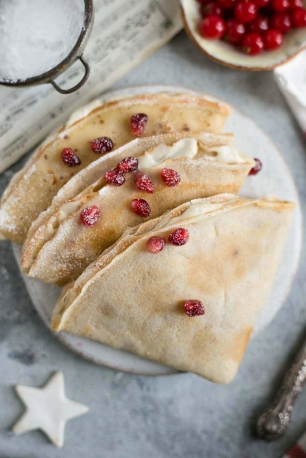 Vegan French Crepes #crepes #recipe #dinner