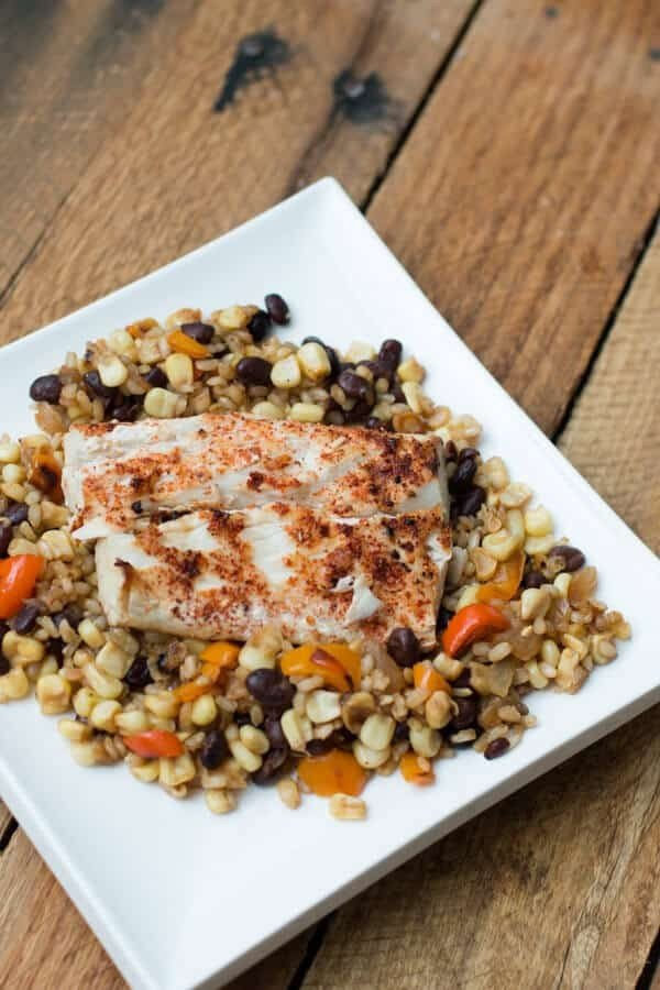 Citrus Alaskan Halibut #recipe #dinner #fish