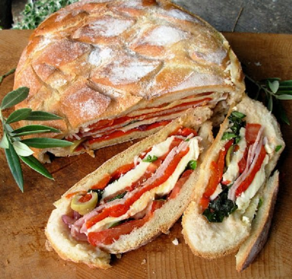 A French Summer Picnic Sandwich #picnic #recipe #lunch