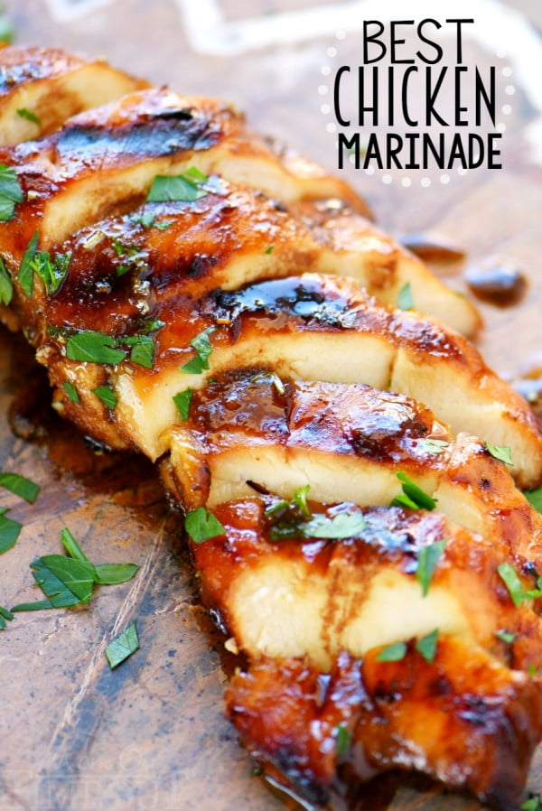 The BEST Chicken Marinade Recipe #grill #dinner #recipe