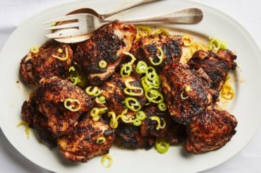 Grilled Chicken with Banana Peppers Recipe #grill #dinner #recipe