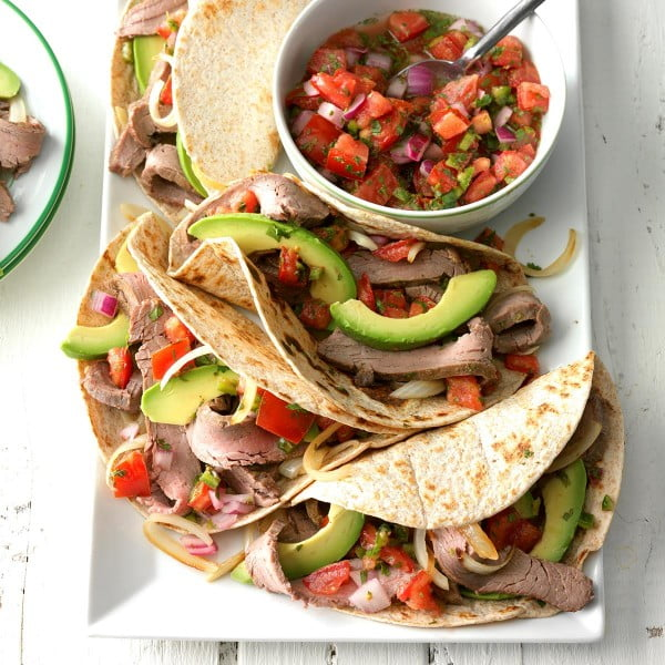 Steak Fajitas Recipe #grill #dinner #recipe