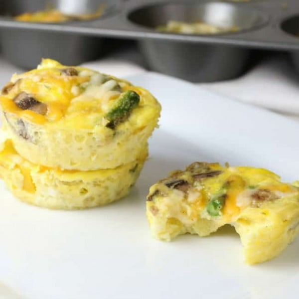 Calorie Egg Cups #lowcalorie #recipe #dinner
