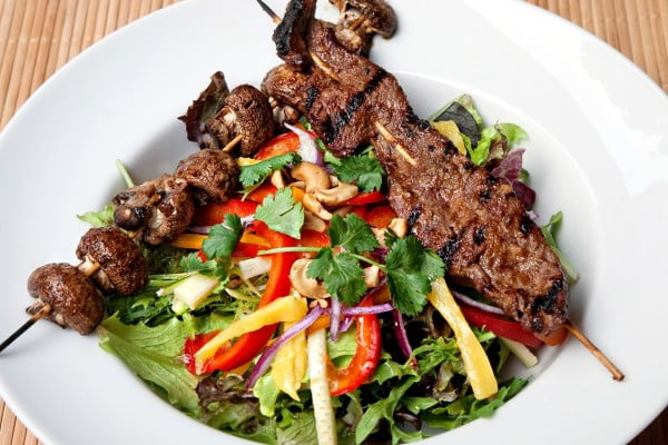 Kalbi Beef Salad #lowcalorie #recipe #dinner
