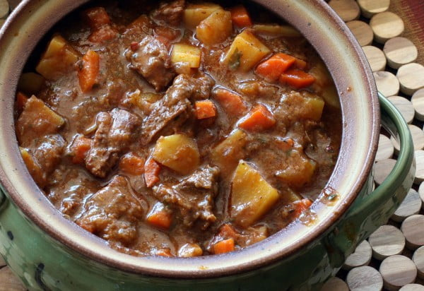 Guinness Stout Flavors This Hearty Beef Stew #onepot #dinner #recipe