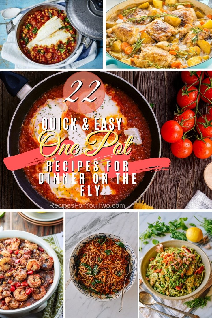 Make dinner on the fly on busy weeknights with one of these delicious one-pot recipes. Great list! #recipe #dinner #onepot