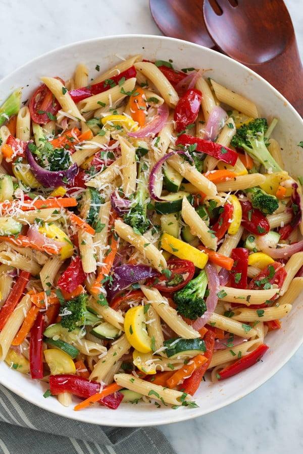 Pasta Primavera (Delicious Recipe Anytime of Year!) #pasta #dinner #recipe