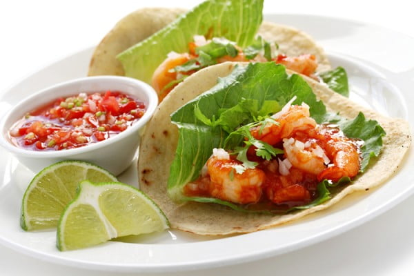 Soft Shrimp Tacos #picnic #recipe #lunch