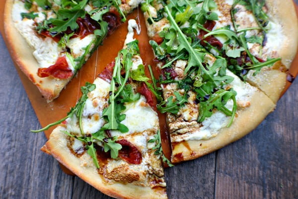 "Perfect Pizza for ""Pizza and Wine"" Night #pizza #dinner #recipe"