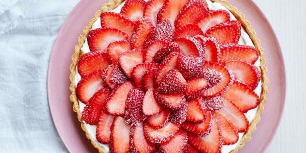 Strawberry Tart #romantic #recipe #dessert