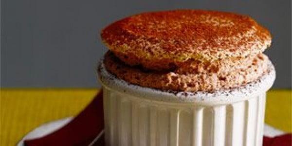 Daniel Boulud's Chocolate Soufflé #romantic #recipe #dessert