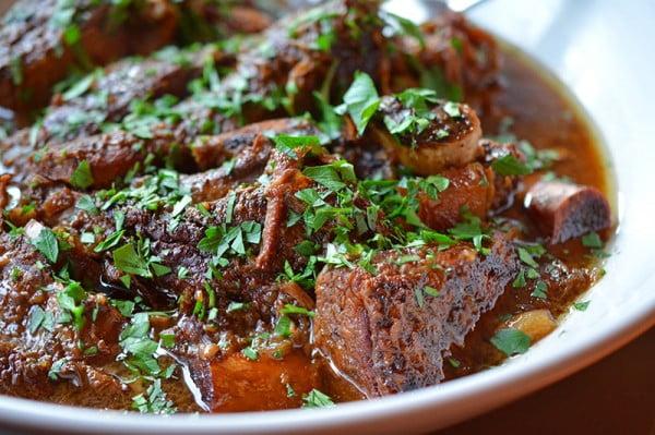 Slow Cooker Korean Short Ribs #steak #recipe #dinner