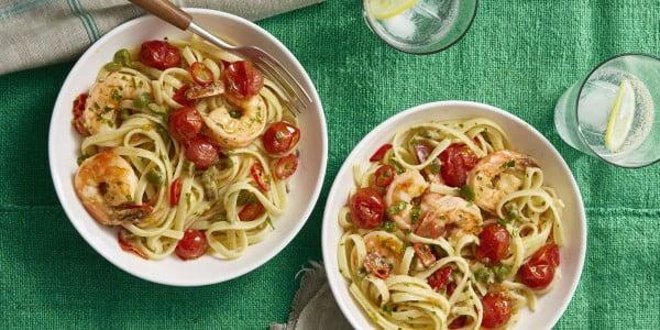 Shrimp Puttanesca #steak #recipe #dinner