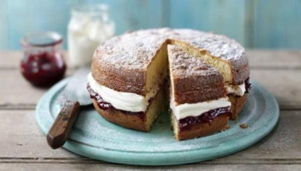 Sponge cake #cake #recipe #dessert