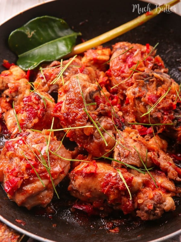 Indonesian Spicy Chicken #chicken #spicy #dinner