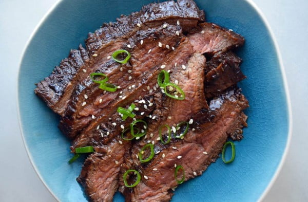 The Ultimate Asian Flank Steak Marinade #steak #marinade #bbq #grill #dinner