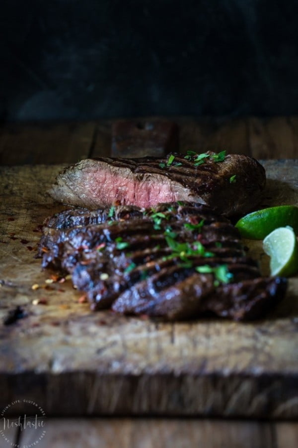 Grilled Flat Iron Steak #steak #marinade #bbq #grill #dinner