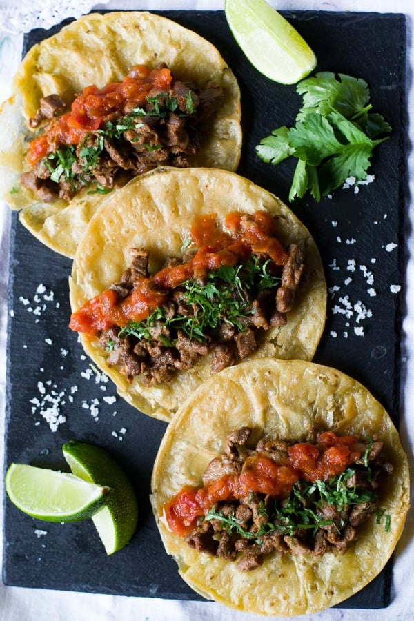 Mexican Steak Tacos – Wanderspice #tacotuesday #taco #recipe #dinner