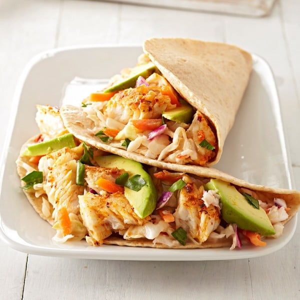Chipotle Fish Tacos Recipe #tacotuesday #taco #recipe #dinner