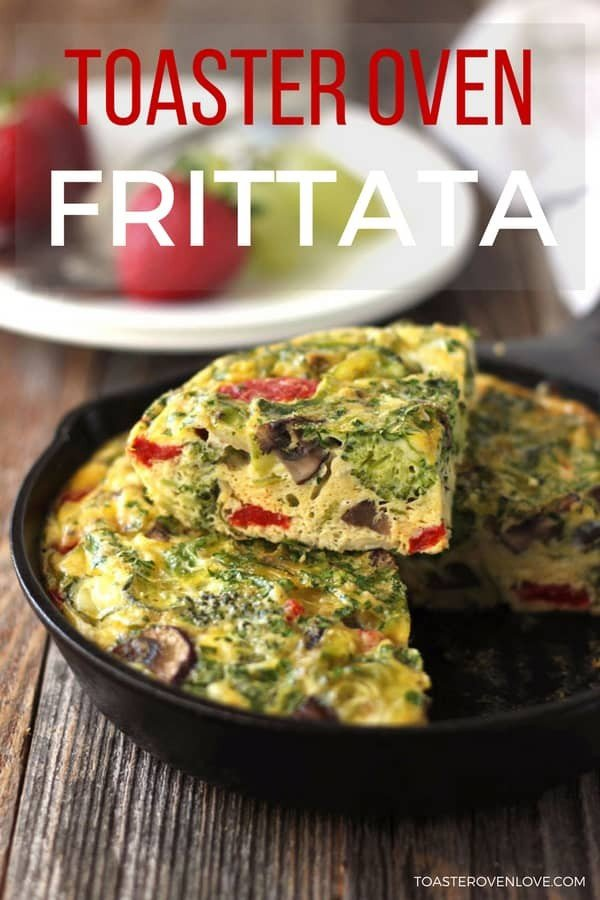 Toaster Oven Frittata for Two #toasteroven #recipe #dinner