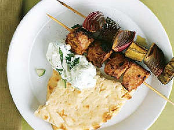 Moroccan Pork Kebabs #toasteroven #recipe #dinner