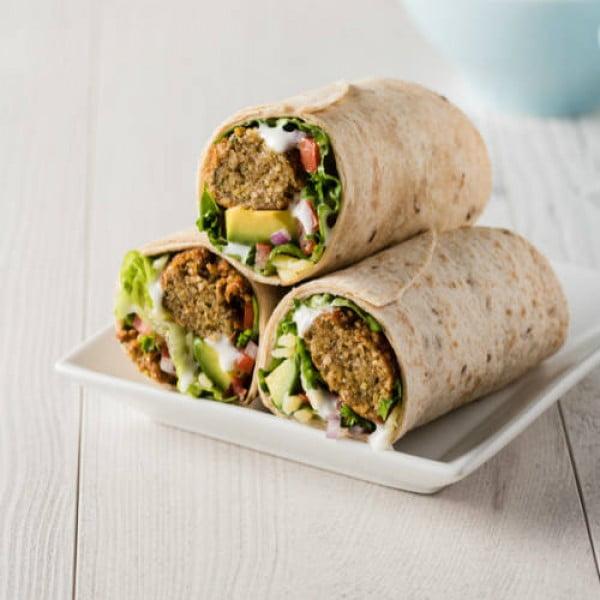 Falafel Wrap Recipe: How to Make Falafel Wrap #recipe #wrap #dinner #snack