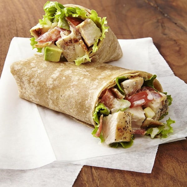Chicken Club Wraps Recipe #recipe #wrap #dinner #snack