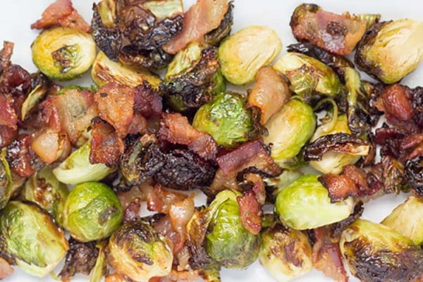 Maple Bacon Brussels Sprouts #airfryer #dinner #food #recipe