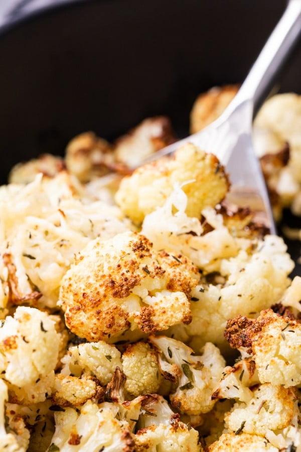 Roasted Cauliflower #airfryer #dinner #food #recipe