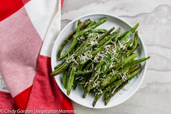 Air Fryer Green Beans #airfryer #dinner #food #recipe