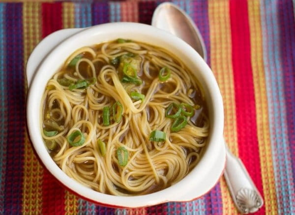 Quick & Easy Chinese Noodle Soup #asianfood #dinner #recipe
