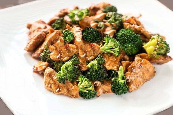 Chinese Chicken & Broccoli #asianfood #dinner #recipe