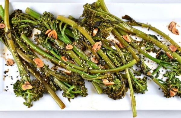 Easy Asian-Style Broccolini Recipe #asianfood #dinner #recipe