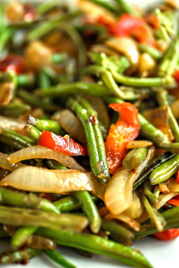 Green Beans Asian Style #asianfood #dinner #recipe
