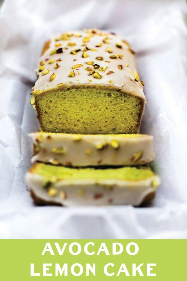 Avocado Lemon Cake #avocado #recipe #food #dinner