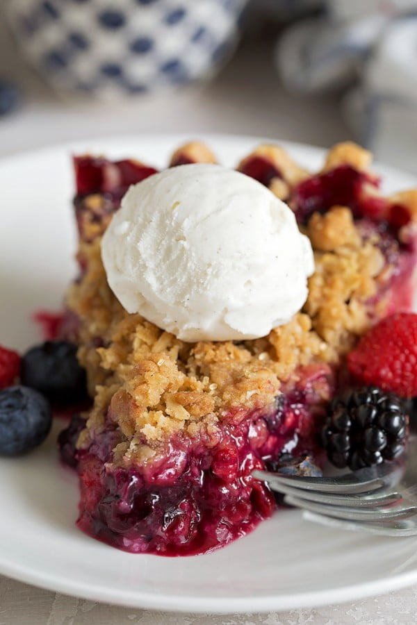 Mixed Berry Pie #berries #dessert #recipe