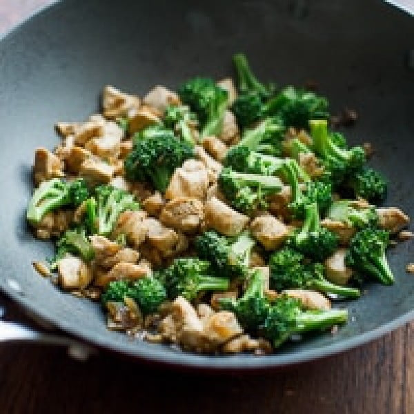 Chicken Broccoli Stir Fry Recipe that's Healthy, Easy and Low Carb #recipe #broccoli #dinner #food