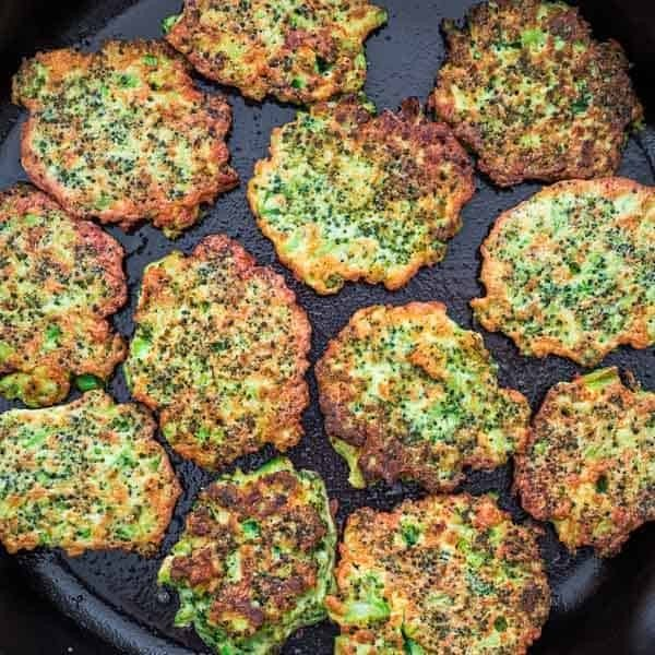 Basic Broccoli Fritters #recipe #broccoli #dinner #food