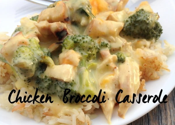 Chicken Broccoli Casserole #recipe #casserole #dinner